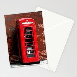 Red Phone Box- London England UK Stationery Cards