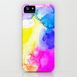 Watercolour Texture iPhone Case