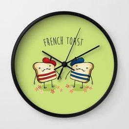 French Toast Wall Clock