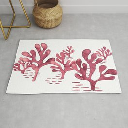 Simply seaweed - Illustration Rug