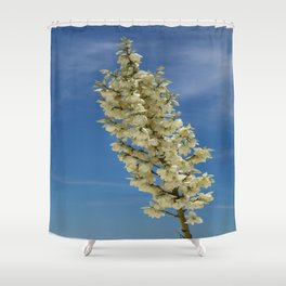 Soap Yucca Blossoms Shower Curtain