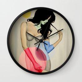 Modern Witch no. 3 Wall Clock