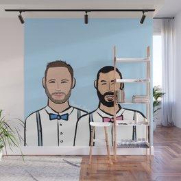 Beard Boy: Markus & Javi Wall Mural
