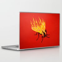 firefly Laptop & iPad Skins featuring The Firefly by victor calahan