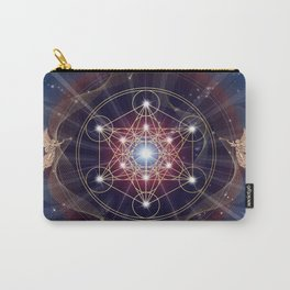 Metatron's Cube - Merkabah - Peace and Balance Carry-All Pouch