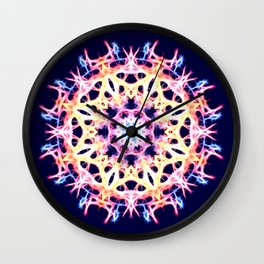 Energy Cell Wall Clock