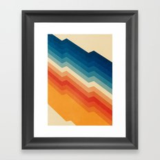 Barricade Framed Art Print