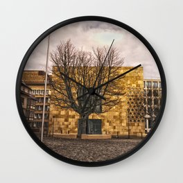 Architecture in Ulm Wall Clock