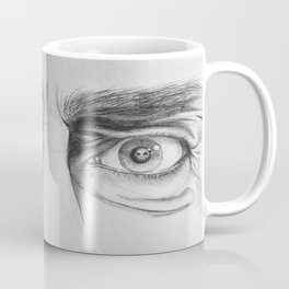 Starring Death in the Face Coffee Mug