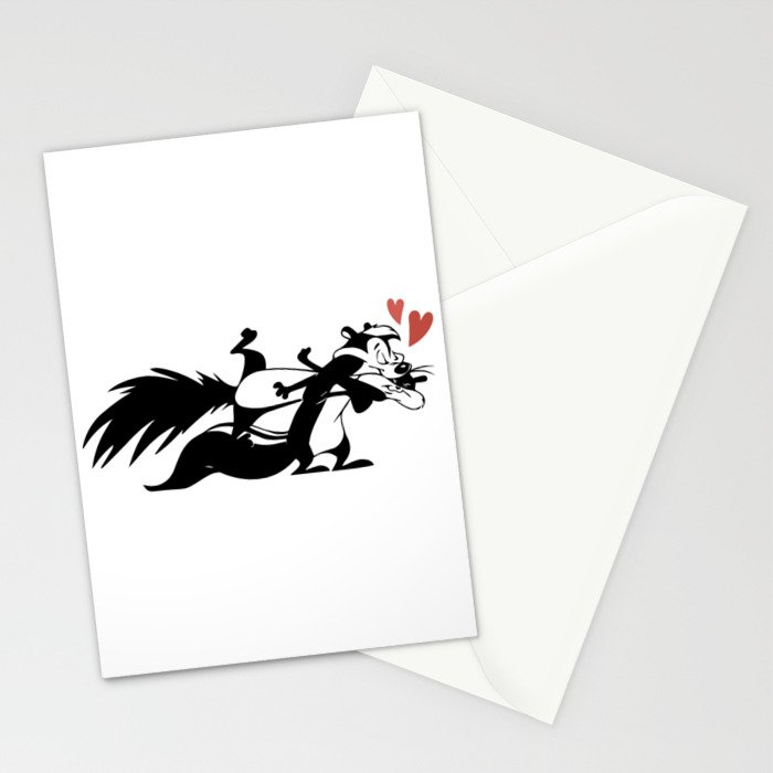 Pepe Le Pew Stationery Cards By Kisgraphics Society6