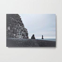 Reynisfjara, Iceland Metal Print
