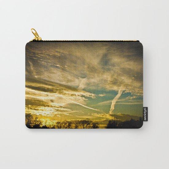 Sundown Sky Planes  Carry-All Pouch