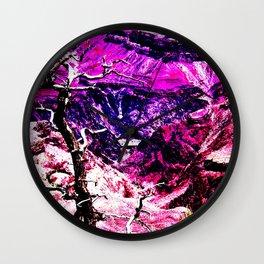 Savage Grandeur-Red Planet Wall Clock