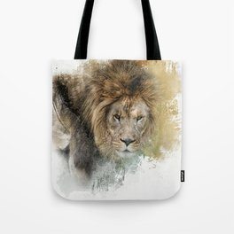 Expressions Lion Tote Bag