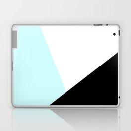 Trichromatic Aqua Blue Laptop & iPad Skin