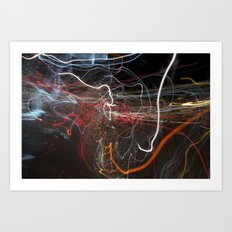 City Lights 3 Art Print
