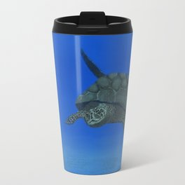 Peaceful Sea Turtle Travel Mug