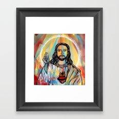 Jesus Framed Art Print