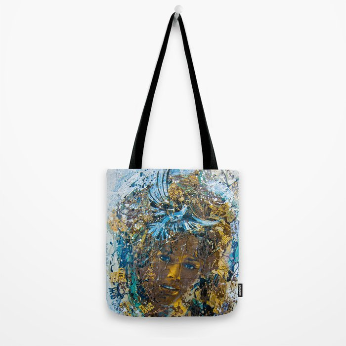 the woman's face #3 Tote Bag