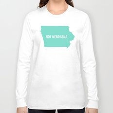Not Nebraska  Long Sleeve T-shirt