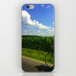 Get home before dinner iPhone Skin