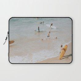 lets surf iii Laptop Sleeve