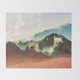 Mighty Mountain #society6 #decor #buyart Throw Blanket