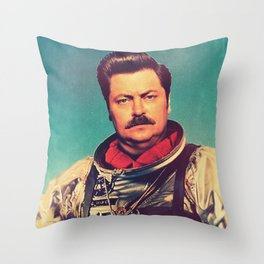 American Hero Throw Pillow