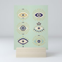 Evil Eye Collection Mini Art Print
