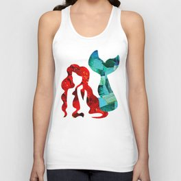 Mermaid Unisex Tank Top