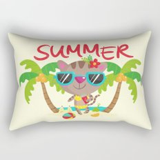 Hello, summer Rectangular Pillow