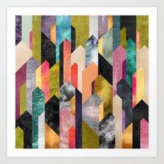 Crystallized Art Print