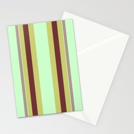 Vintage 70's Curtains Stationery Cards