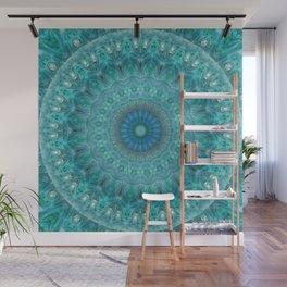 Mandala luminous Opal Wall Mural
