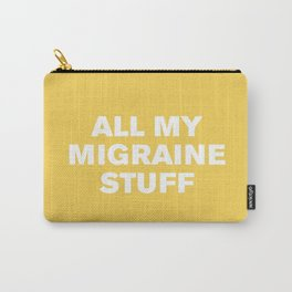 All My Migraine Stuff™ (Primrose) Carry-All Pouch