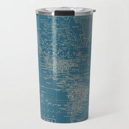 The World According to US Travel Mug