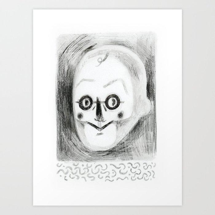 Mr S. Art Print