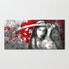 Kazane [ No Sound but the wind] Canvas Print