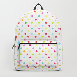 Polka Dot Pattern Backpack