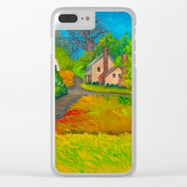 Starr From the Upstairs Window Clear iPhone Case