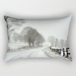 cold fence Rectangular Pillow