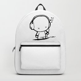 Music White Man Backpack