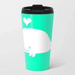 For the Love of Narwhals Travel Mug