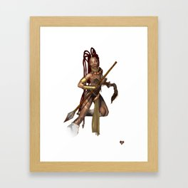Sundance Warrior Framed Art Print