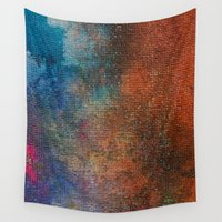 chameleon Wall Tapestries featuring Chameleon by Bestree Art Designs