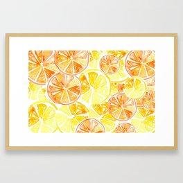 Citrus Celebration Framed Art Print