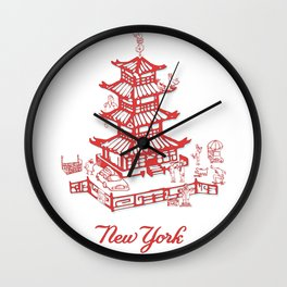 Take-out New York Wall Clock