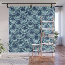 Seafoam Coral Wall Mural