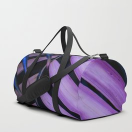 Leaves pink and blue Duffle Bag