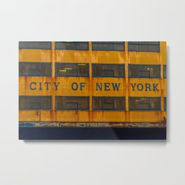 City of New York too Metal Print